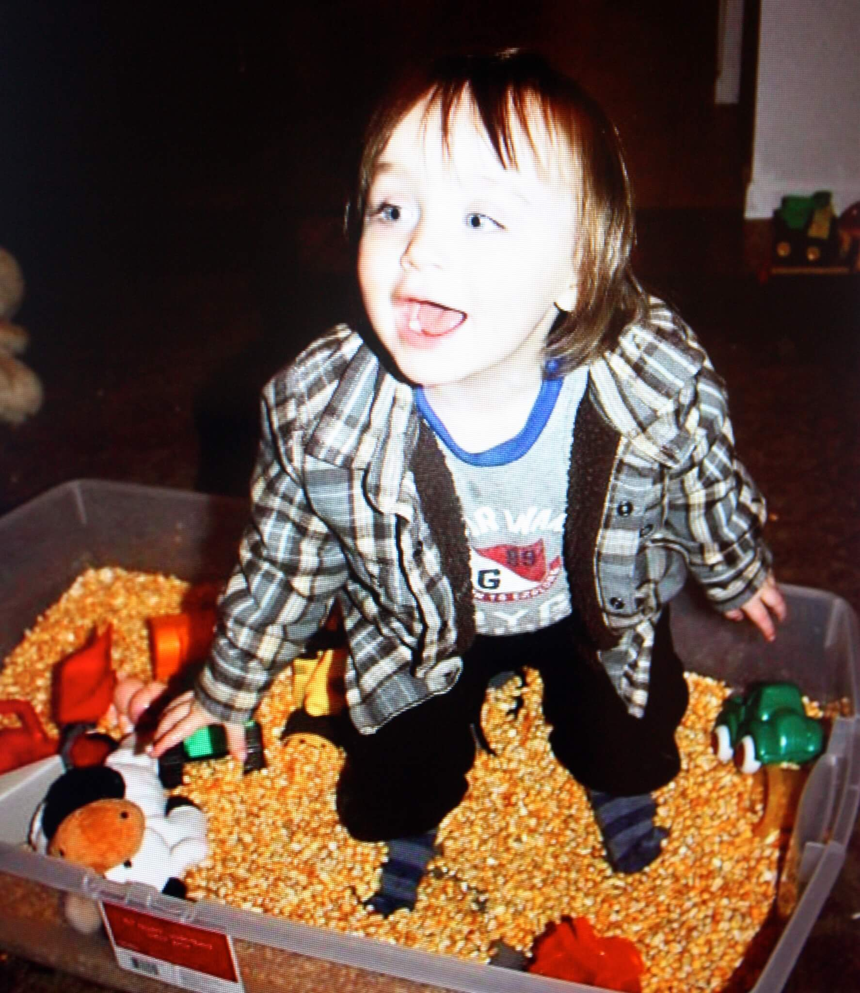 How My Love Affair With Sensory Bins Began!