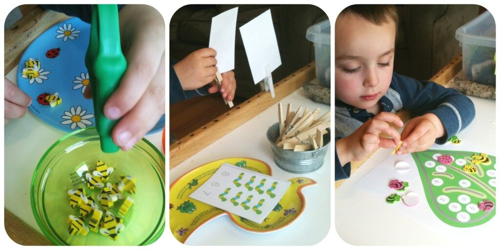nature sensory bin activities work