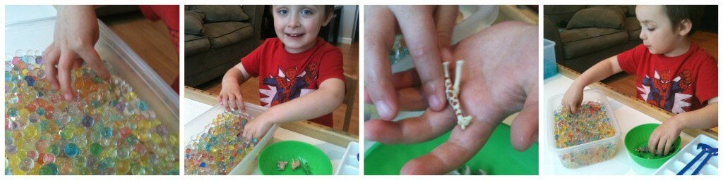 water beads search and find exploring with hands