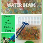water beads search and find sensory play