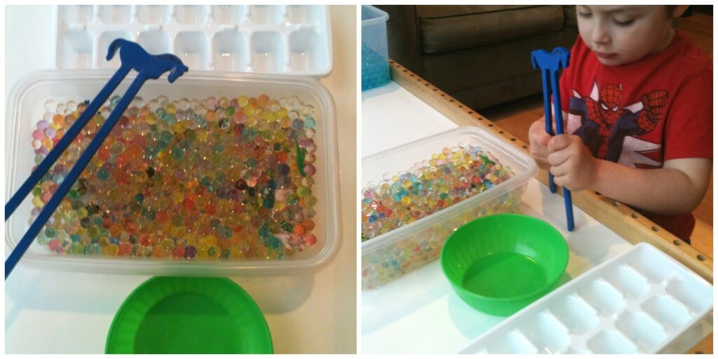 water beads search find set up