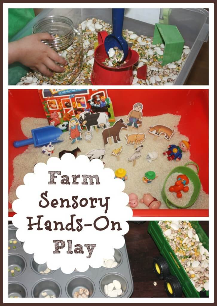 farm sensory bins  u0026 hands on play activities