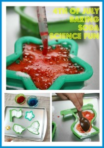4th Of July Baking Soda Science