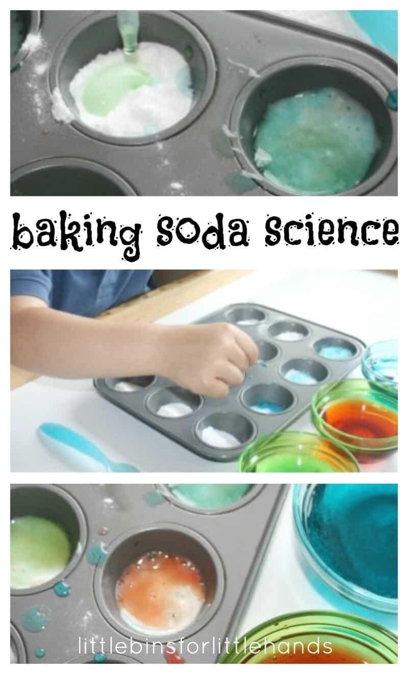 Baking Soda Science Activity For Preschool Science