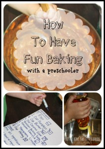How To Have Fun Baking With A Preschooler