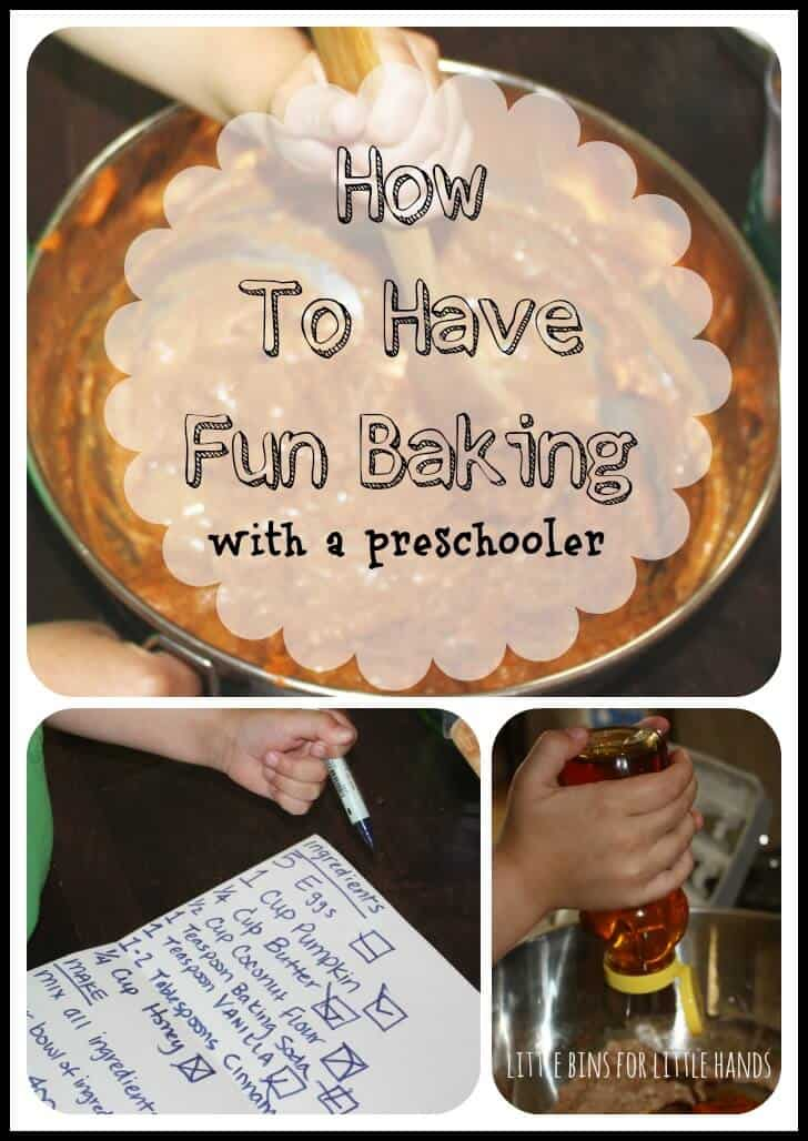 Preschool Baking: Measuring & More