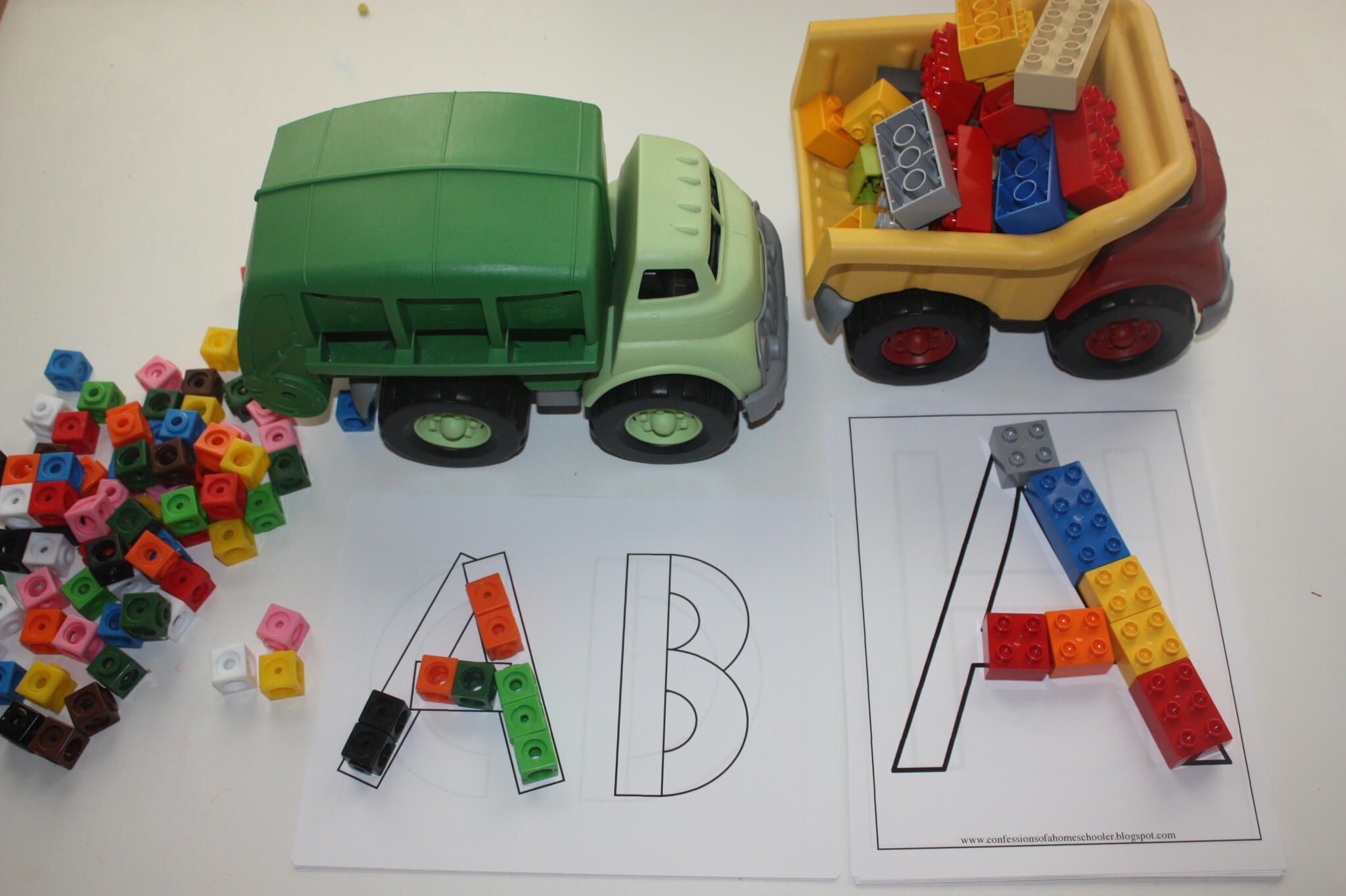 Alphabet Learning Through Play