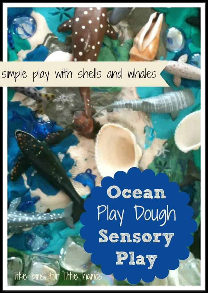 Play-Doh Ocean Theme Part 2: Whales, Water and Shells