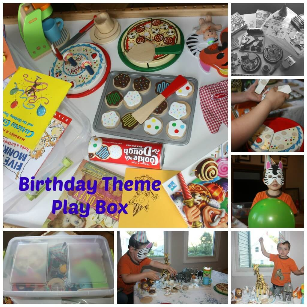 birthday theme play box