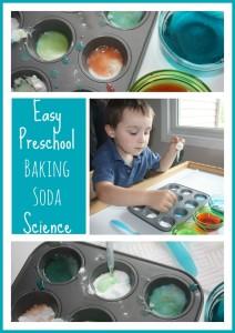 easy preschool baking soda science
