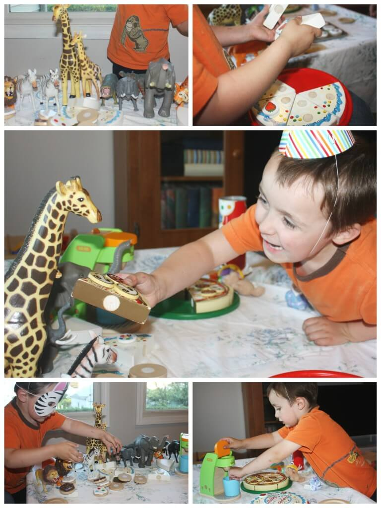 Dramatic Play Pretend Party Them Play Box Party Set Up