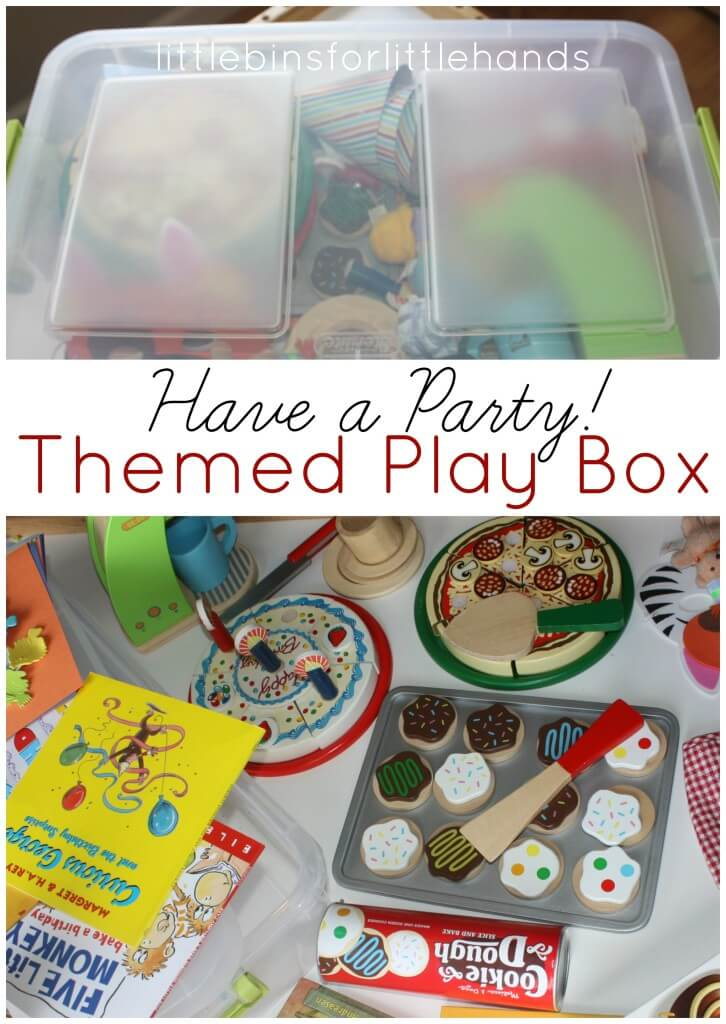 Independent Play Themed Play Box