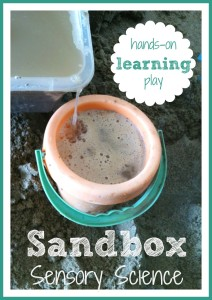 Sandbox Science Hands On Learning Play