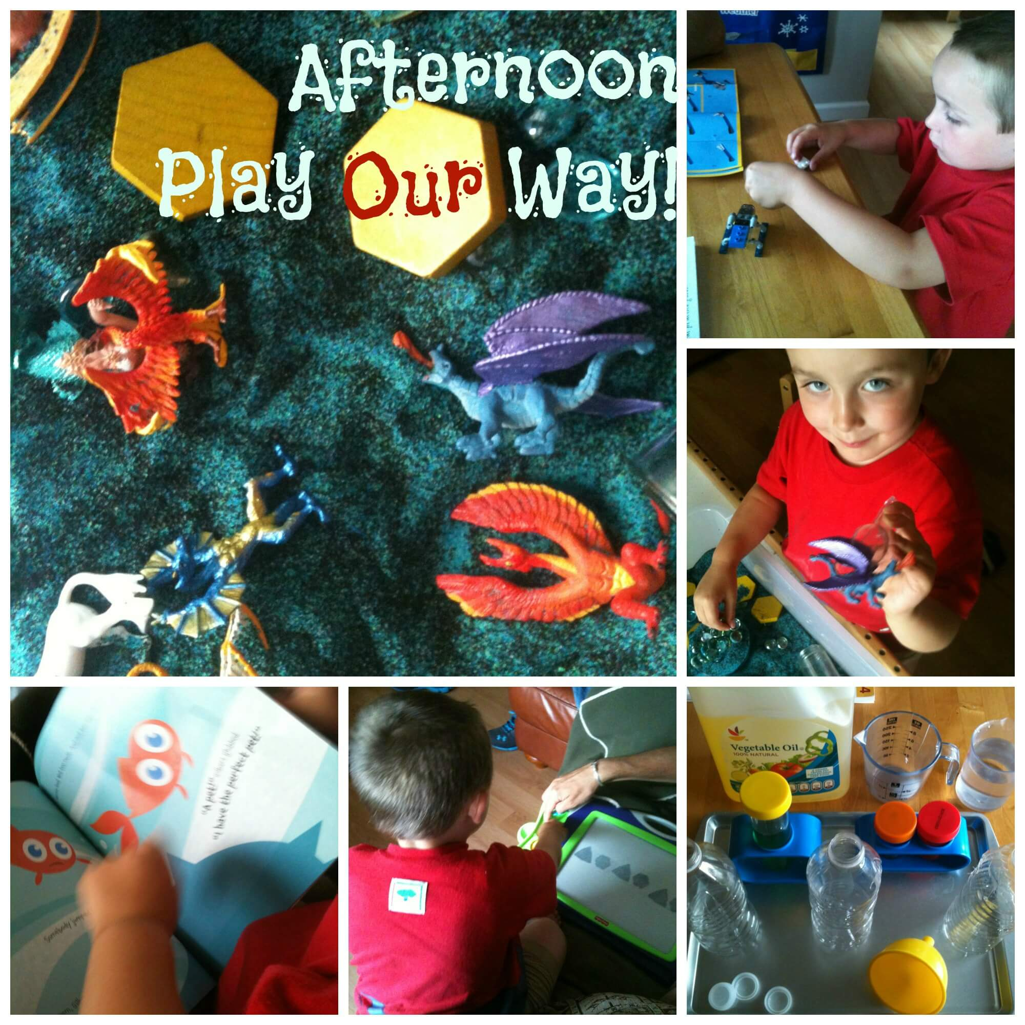 Everyday Play in an Unschooling Way