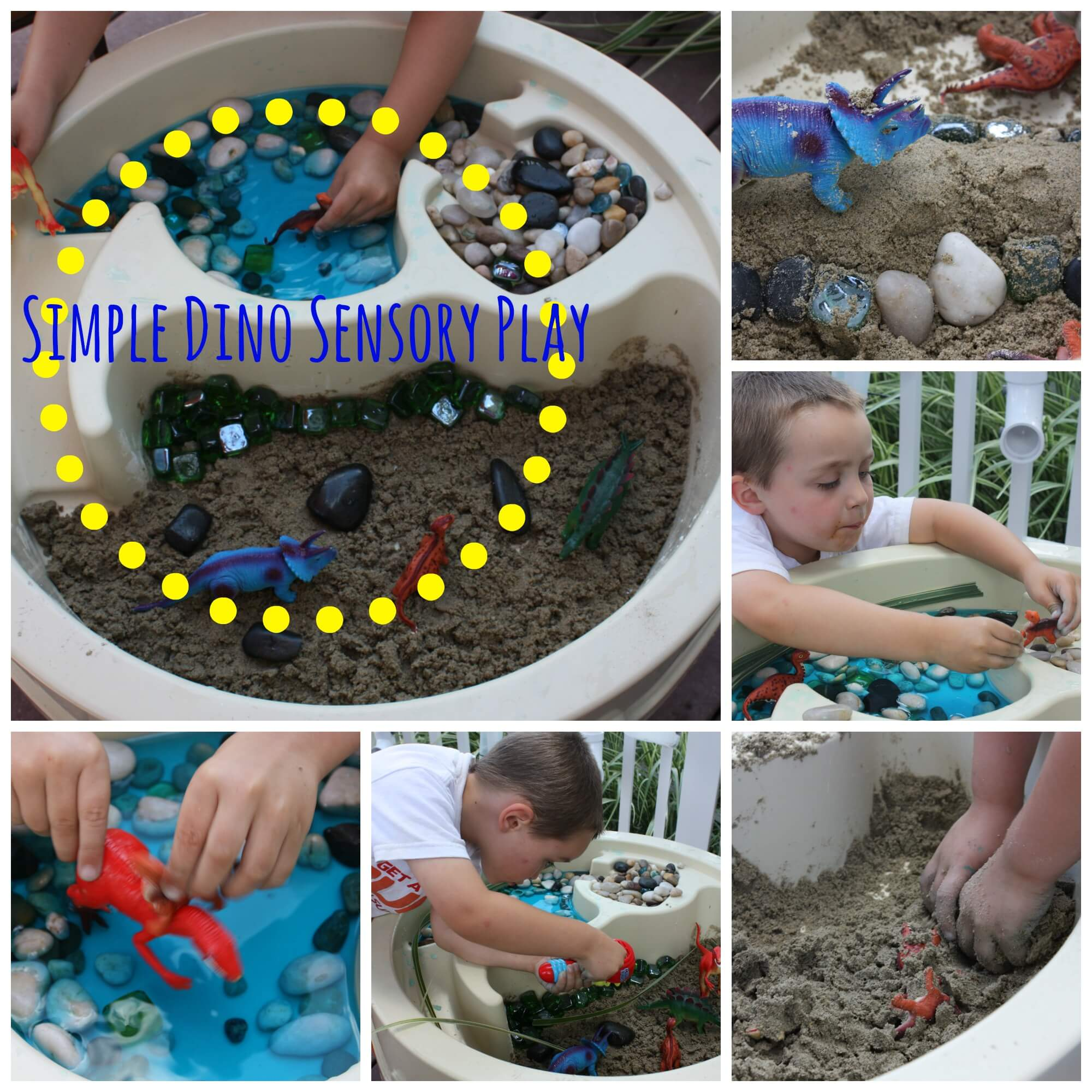 Fun Dinosaur Activities for Preschoolers | Little Bins for ...