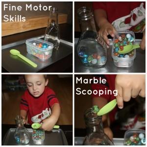 marble scoop