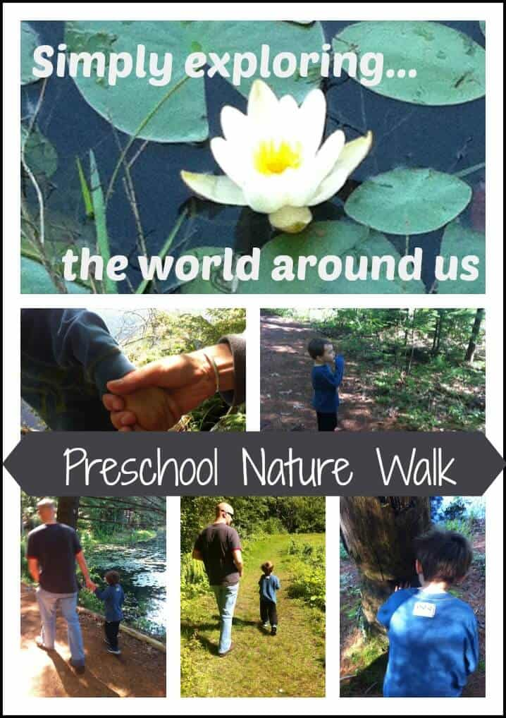 Preschool Nature Walk & Exploration