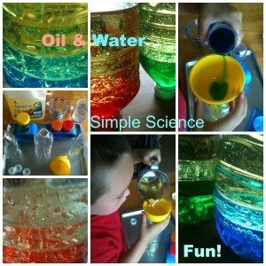 oil and water science