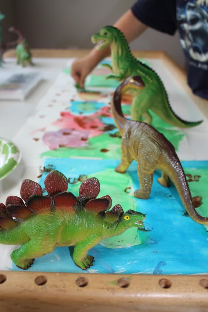 Dinosaur Footprint Activities Dinosaur Steam For Kids