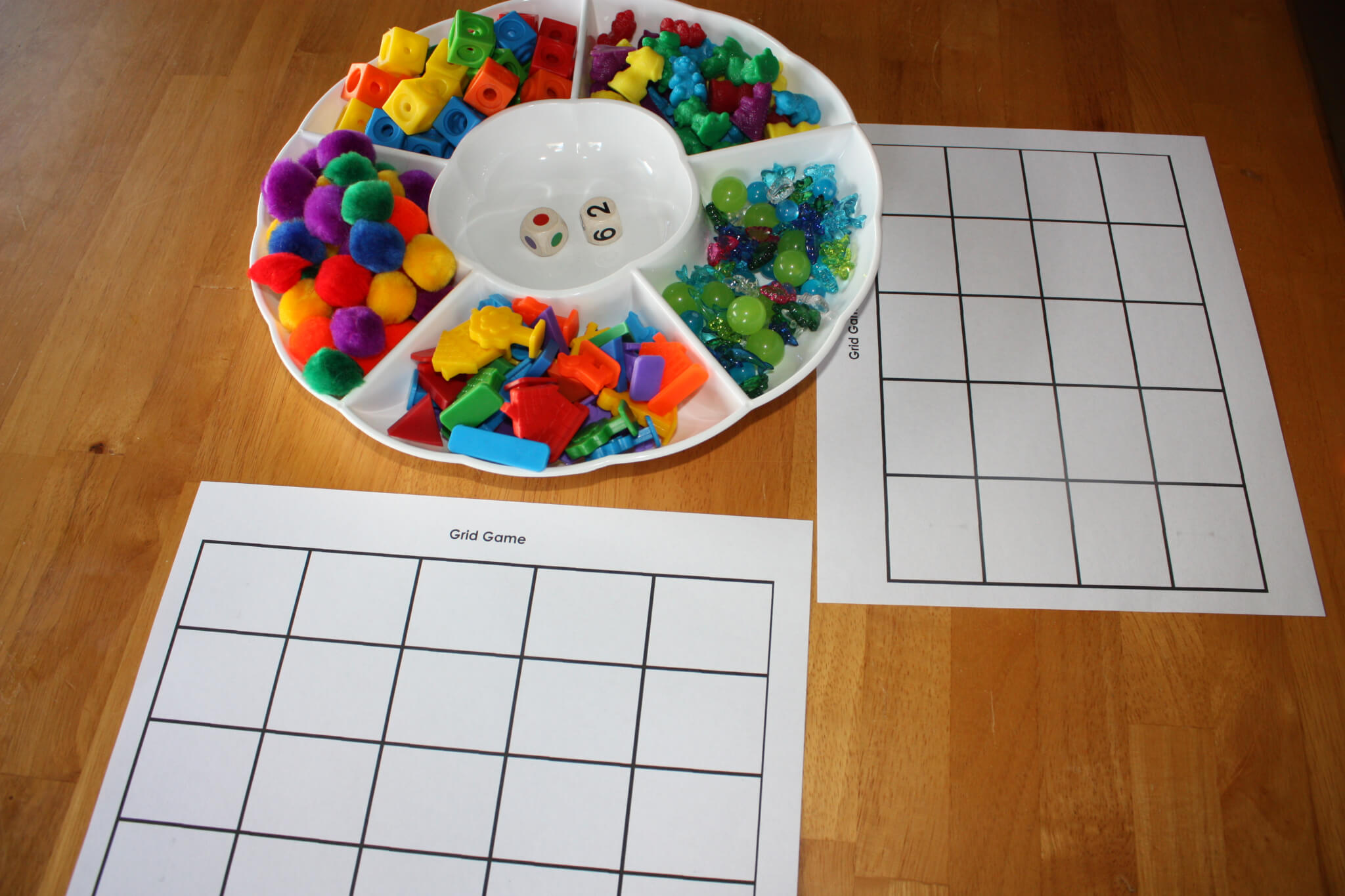 Color Simple Game Colors Grid Game Simple