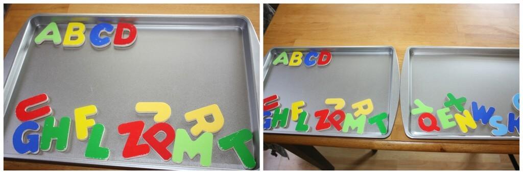 alphabet magnet jumble
