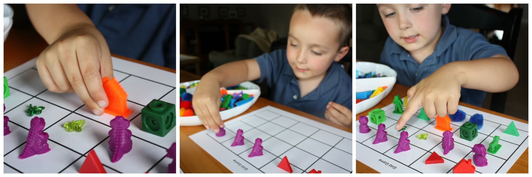 Colors grid game homemade preschool math game b inspired color tray 3 solutioingenieria Image collections