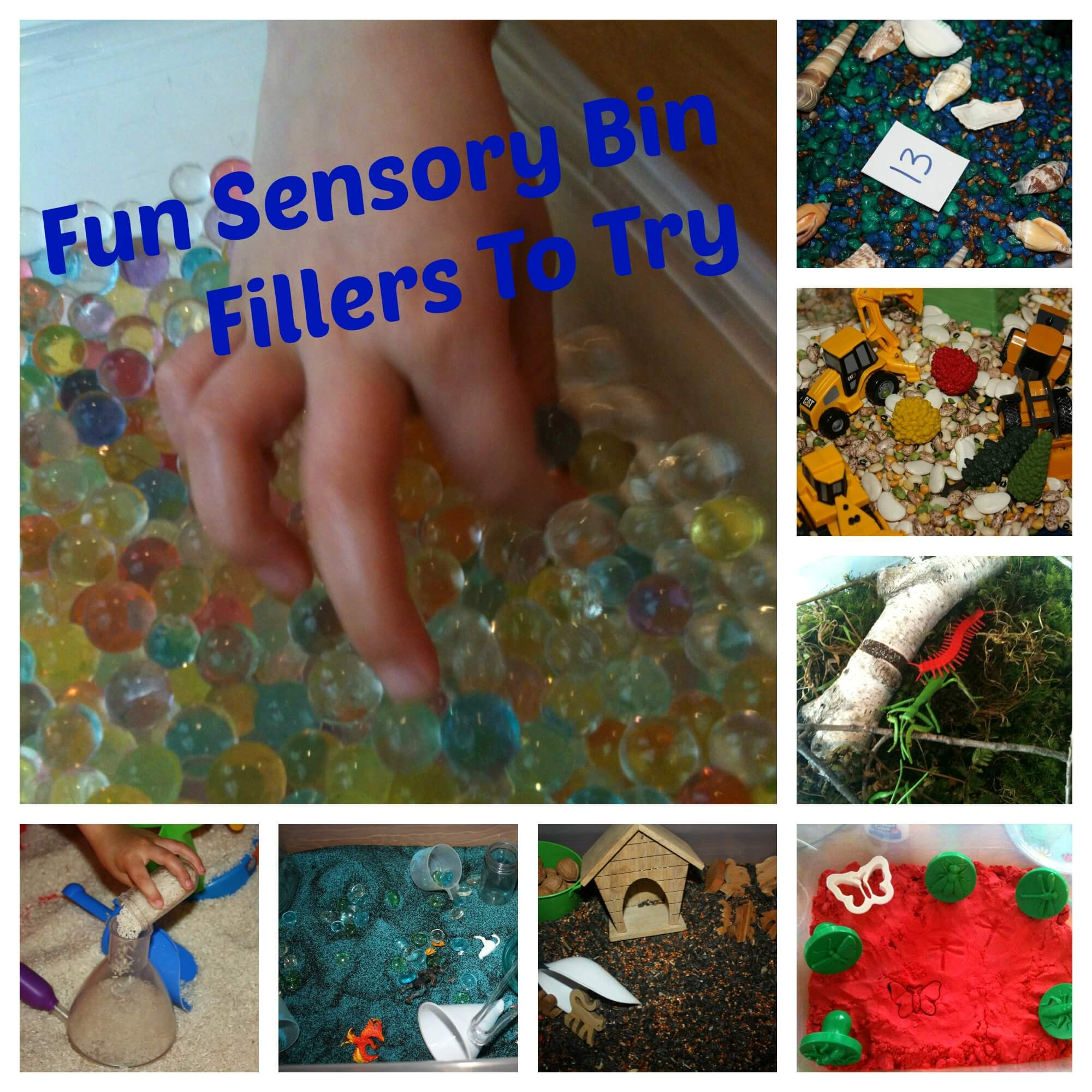 Ultimate Wednesday Sensory Play Party Linky