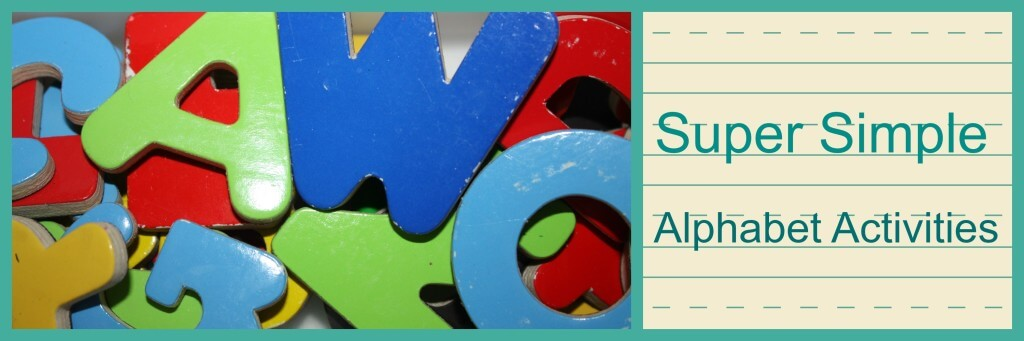 super simple alphabet activities