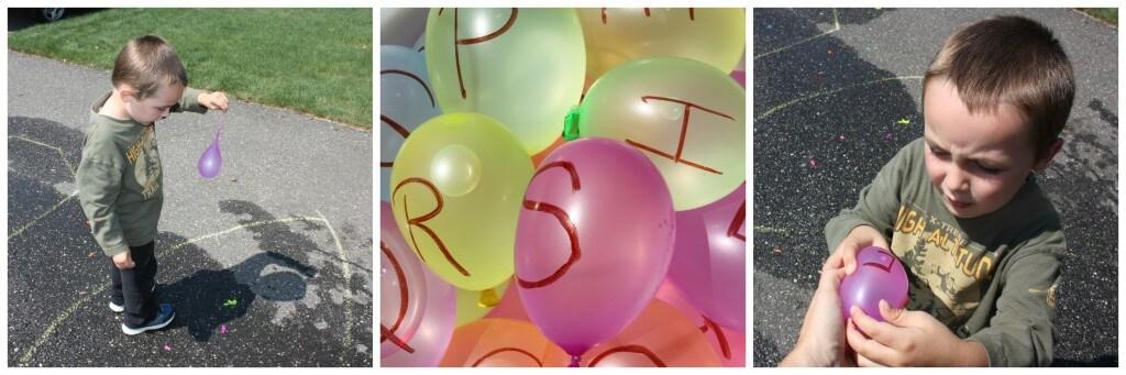 water balloon tri pic