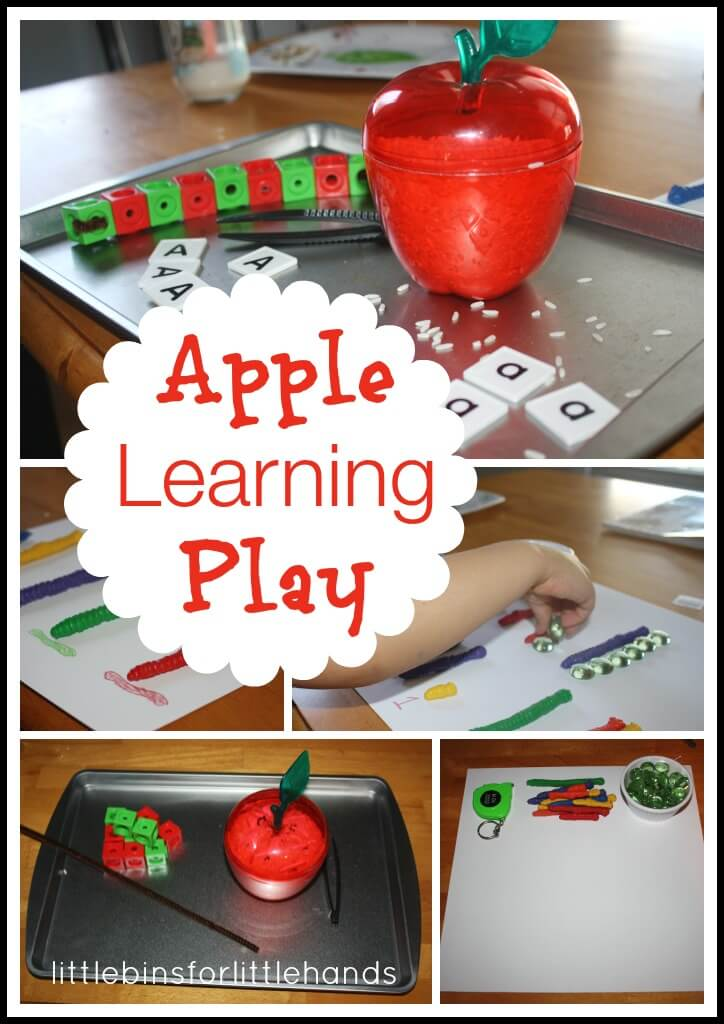 Apple Learning Activities For Toddlers And Preschoolers