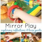 Mirror Discovery Table Exploring Reflections And Loose parts