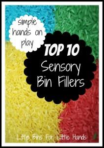 Top 10 Sensory Bin Fillers