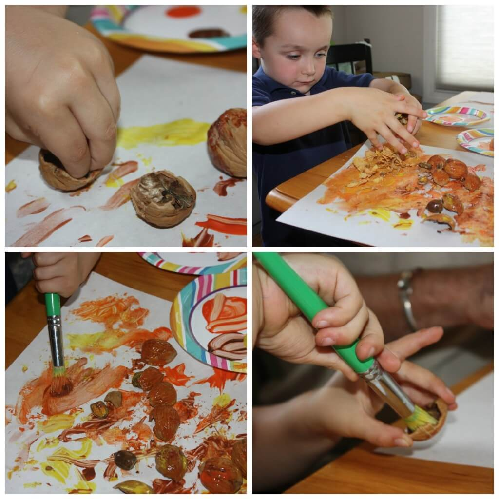 books and bins earl nut painting play