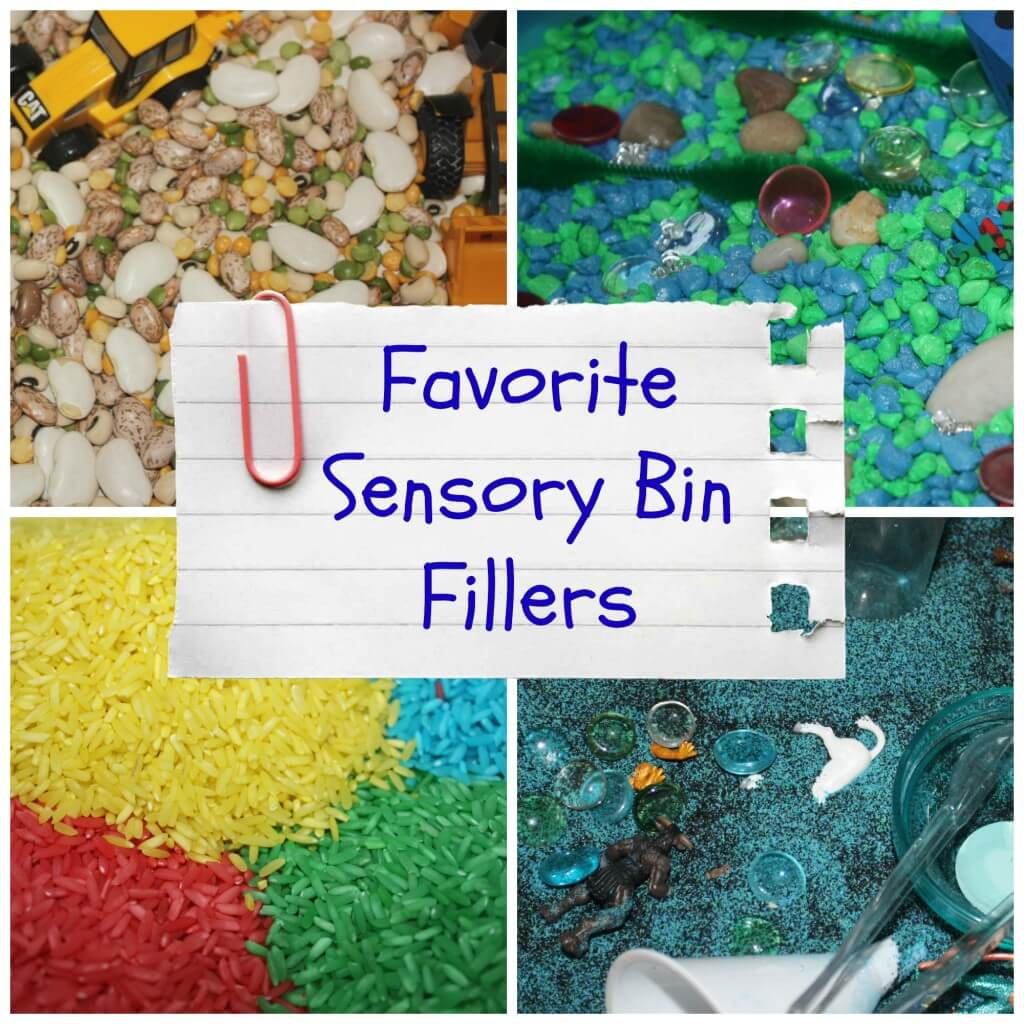 favorite sensory bin fillers