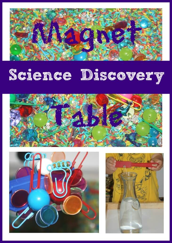 discover and learn preschool preschool discovery table exploring magnets 316