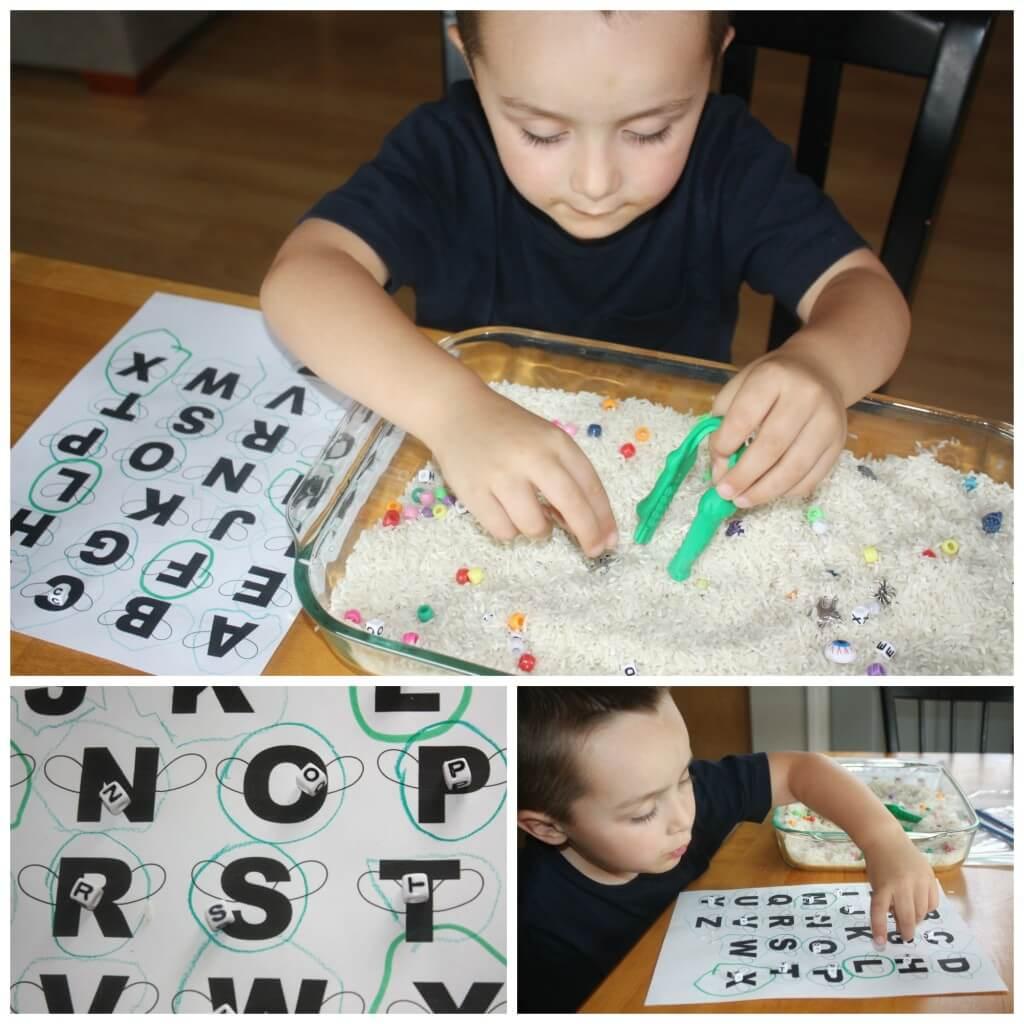 rice search alphabet