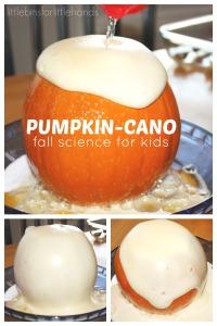 Pumpkin Volcano Science Activity