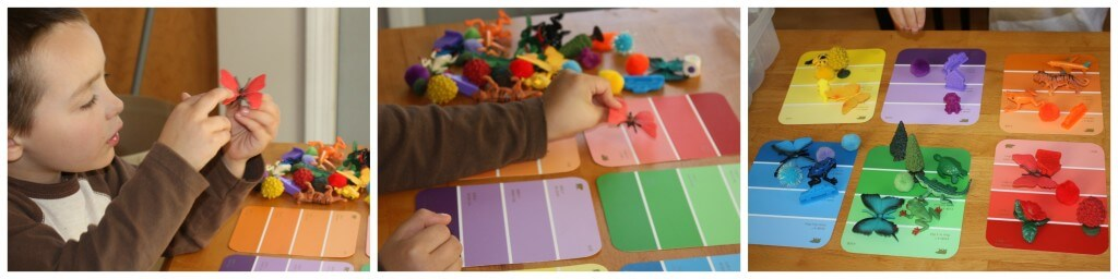 Ismerkedés a színekkel