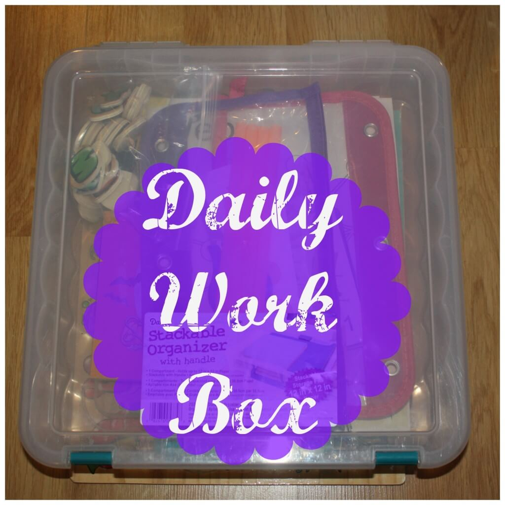 daily work box cover text