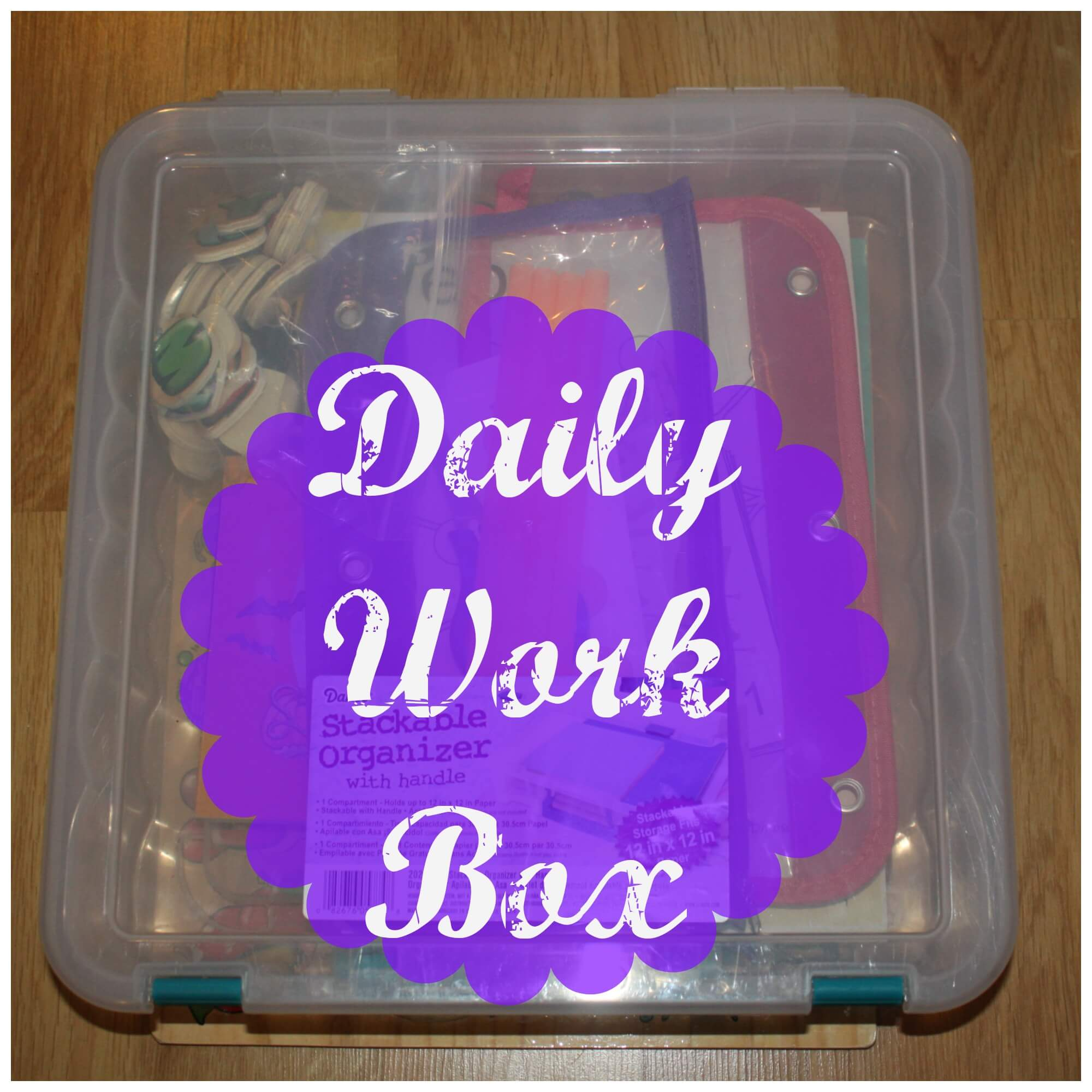 Easy To Make Preschool Busy Box