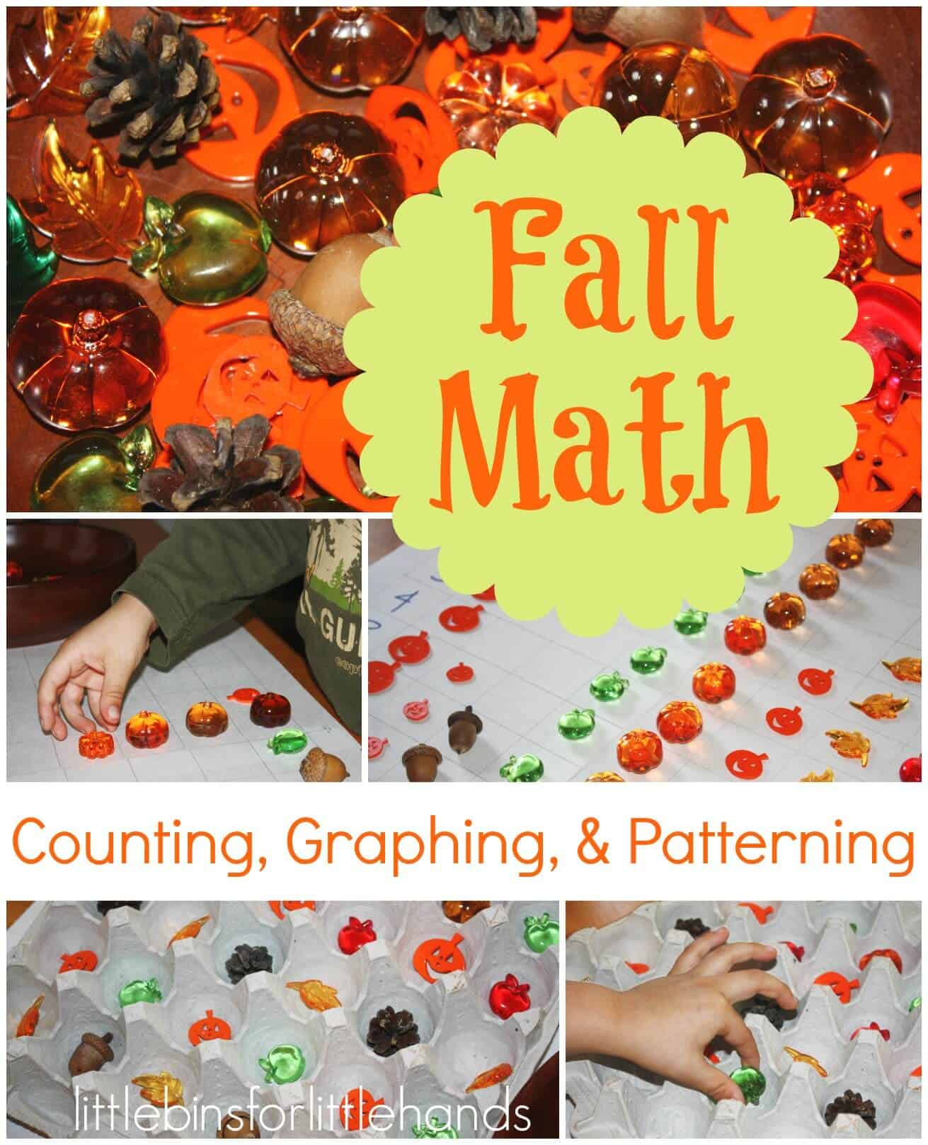 Simple Fall Early Learning Graphing & Patterning