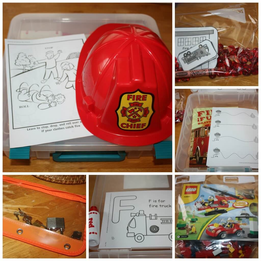 fire safety work box