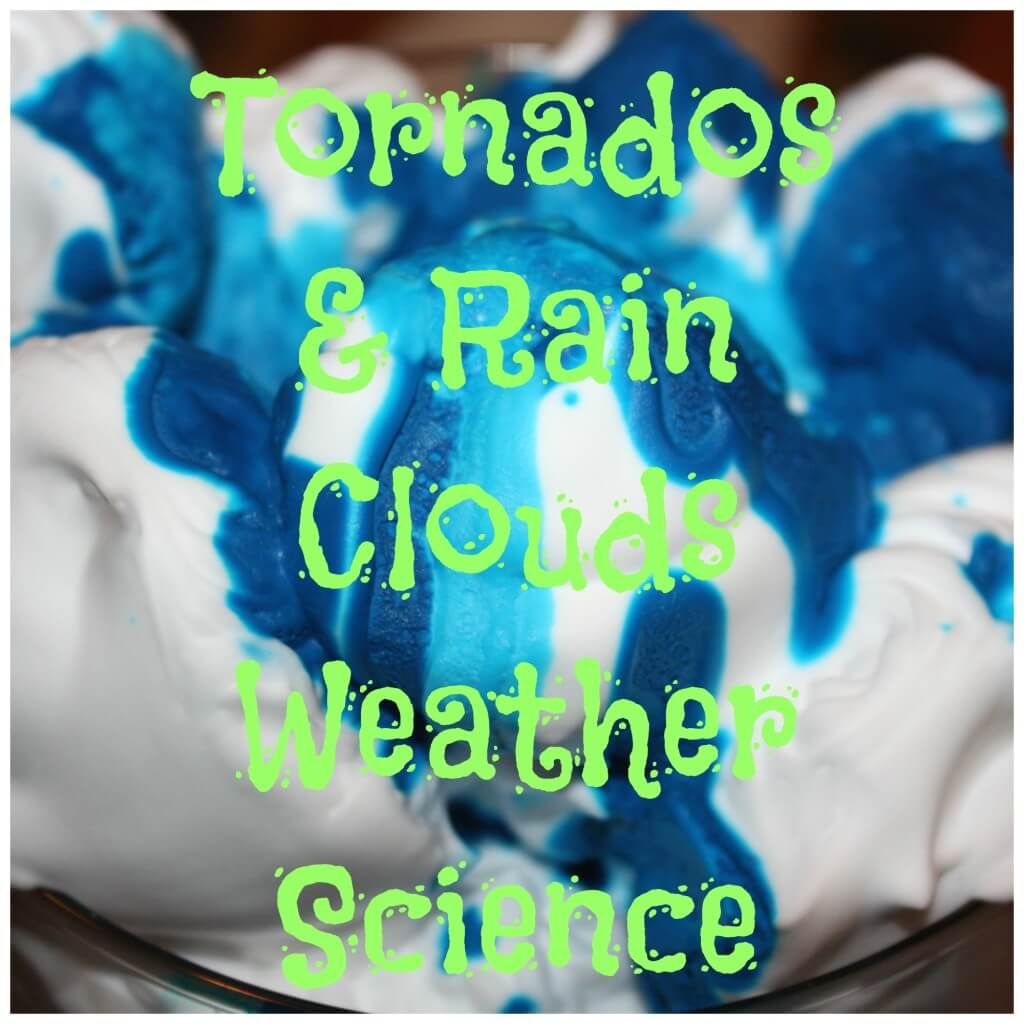 tornados & rain clouds cover text