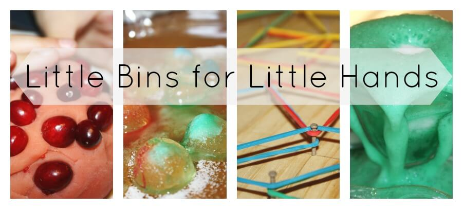 Little Bins for Little Hands