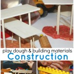 Building Activity Engineering with Play Dough And Loose Parts