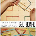 Geo Board Homemade Geo Board DIY Geo Board