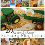 Harvest Theme Sensory Play Ideas