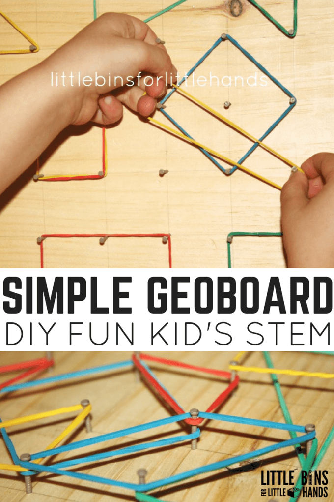 simple-geoboard STEM math
