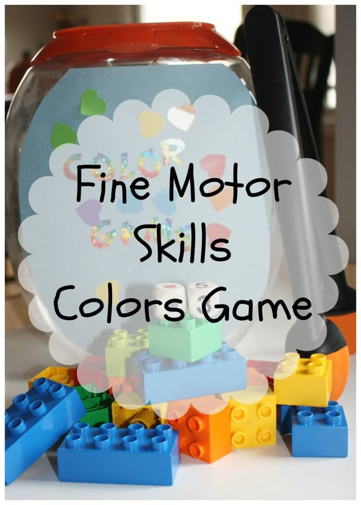 color game fine gross motor play