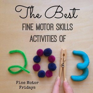 Best Fine Motor Activities for Kids from lalymom